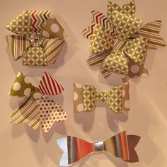 Gift Bow Die - Stampin Up! 2013 Holiday catalog