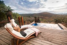 Our Rhino Ridge Safari Lodge features African safari photos from all four corners of our lodge! Safari Room, Tiny House, Kwazulu Natal, Ice Climbing, Plunge Pool, Wooden Decks, Game Reserve, Indoor Outdoor, Outdoor Decor