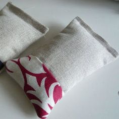 lavender rice bags, these are great for aches and pains, the lavender is so soothing it makes headaches melt away! Just pop it in the microwave for a couple minutes for some heat Hot Cold Packs, Rice Bags, Some Ideas, Flower Brooch, Hand Warmers, Pin Cushions, One Color, Vivid Colors, Deco