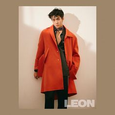 EXO's Sehun is the sexy cover model of 'Leon' magazine | allkpop.com