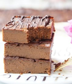 These Super-Fudgy, Low-Calorie Sweet Potato Blender Brownies are super-easy & fast to make, extra-low-fat & low-calorie, Paleo and Gluten Free! Also they are very fudgy and extra-delicious - they're simply the best!