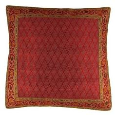 Decor Center Silk cushion covers for sofa decorating idea 40 cm x 40: Amazon.de: Kitchen & Home