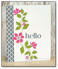 Modern Silhouettes  kth by kthaman - Cards and Paper Crafts at Splitcoaststampers