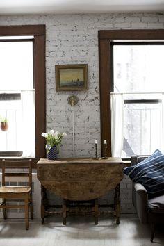 Interior Design by Zio & Sons | A Small Space Makeover in Downtown Manhattan - Home Tours 2014 - Lonny
