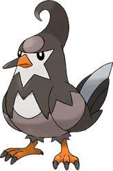 Staravia is a bird Pokemon!