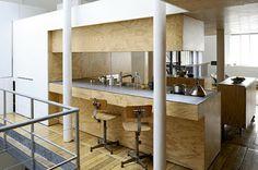 Plywood Kitchen