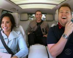 Nick Jonas and Demi Lovato's Awesome 'Carpool Karaoke'