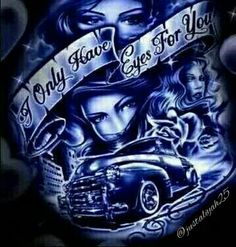 Search and browse interesting, stylish, and funny photos submitted by members of the BeFunky community. Lowrider Tattoo, Lowrider Art, Chicano Art Tattoos, Chicano Drawings, Woody, Estilo Chola, Chicano Love, Cholo Art, Chola Style