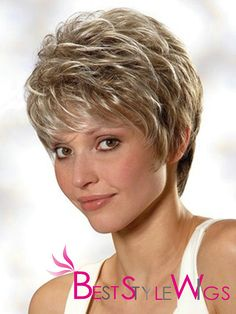 cheap short curly wigs   ... Human Hair Short Curly Gray about 4 Inches Cheap Wig - USD $116.0000