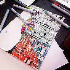 Blog: Instagram Likes, Pt. 6 - Doodlers Anonymous #Art #Doodles