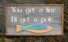 Lake and Lodge Decor  Outdoor Signs  Handmade by CrowBarDsigns, $40.00