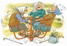 Stylowa kolekcja inspiracji z kategorii Humor Old Folks, E Online, Art Impressions, Futurama, Satire, Friends Forever, Old Women, Getting Old, Illustrator