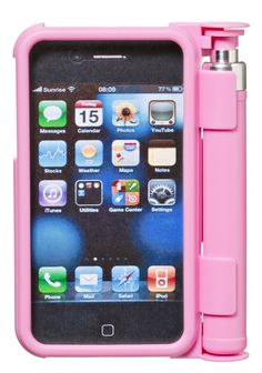 Pepper Spray Case for iPhone 4, Pink