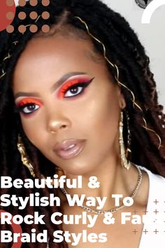 Beautiful Textured & Stylish Way To Rock A Butterfly Protective Style Braid Protective Style Braids, Protective Styles, Curly Hair Styles, Natural Hair Styles, Curly Braids, Hair Styler, African American Hairstyles, Hair Videos, Braid Styles