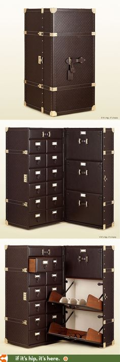Gucci's $50,000 Shoe Trunk for men. wow.