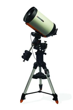 The CGE Pro 1100 HD combines Celestron's state of the art CGE Pro Computerized Equatorial mount with its new EdgeHD optical system. With an optical tube assembly weighing only 28 lbs, this telescope is still portable enough to be taken to Celestron Telescopes, Nasa Planets, Telescopes For Sale, Astronomical Telescope, Night Vision Monocular, Space Exploration, Stargazing, Solar System, Astronomy