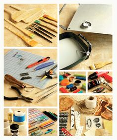 A variety of encaustic supplies and encaustic tools,  from The Encaustic Studio.  From the Cloth Paper Scissors Magazine site