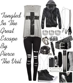 """""""Tangled In The Great Escape (Feat. John Butler)"""" by xxxbloodyrosexxx ❤ liked on Polyvore"""