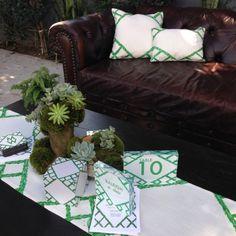 Celebrity wedding planner Mindy Weiss's Trellis wedding invitation collection with Wedding Paper Divas.