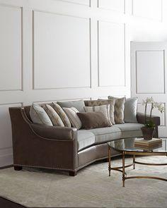 Glimmer Leather Sofa