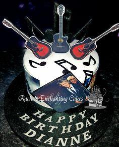 Rod Stewart Themed Birthday Cake by Rachels Enchanting Cakes Sheffield www.rachelsenchantingcakes.com
