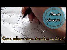 Floresta Encantada - Como colocar desenho no livro? | Luciana Queiróz