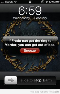 Maybe this is what I need on my alarm clock...