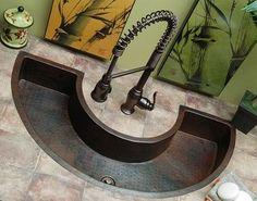 39. Hammered CopperCopper SinksBar ...