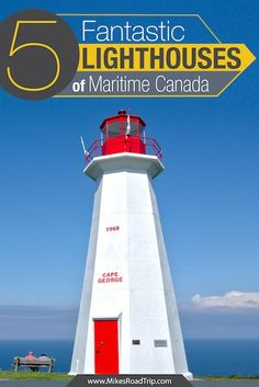 5 Best Maritime Canada Lighthouses: After seeing dozens of Maritime Canada Lighthouses during a three week road trip, these are my five favorites. European Road Trip, Arizona Road Trip, Visit Canada, Prince Edward Island, New Brunswick, Travel Videos, Canada Travel, Nova Scotia, Road Trippers