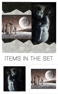 """Go Tell It On The Mountain 2"" by lvoth ❤ liked on Polyvore featuring art"