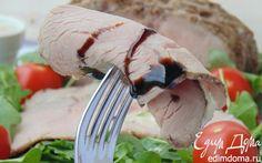 Запеченная телятина с тунцовым соусом | Кулинарные рецепты от «Едим дома!»