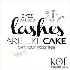 So true !!  lashes so important to complete a beautiful eye makeup.. ✨☺️ #loveforlashes  We are coming soon ...  #eyelashes #falselashes #fakelashes #minklashes #fauxlashes #beauty #product #makeup #makeupartist #promua ##mumbai #delhi #lashaddict #lashesonfleek #lashes #love #lashextensions #lashlovers #lashglue #lashlift #lashquotes #quotes