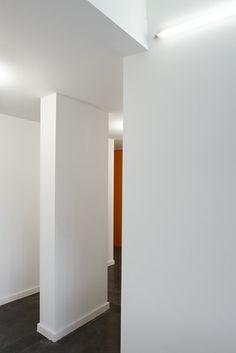 Verbouwing en inrichting van twee appartementen op niveau 6 en 7 in brussel 0524MAES stam.be