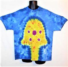 Mushroom Tie Dye// Mushroom T shirt// XL tie dye shirt// Tie Dye Mushroom Shirt// Trippy Tie Dye// Psychedelic// Rave Top// Festival wear by FarmFreshTieDyeStore on Etsy