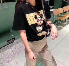 c8d3f8d5e955 Sale Disney Cartoon Mickey Mouse top T shirt top tee Mickey Mouse Cartoon, Girls  Eyes