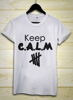 5SOS 5second Of Summer Keep C.A.L.M calum hoodLuke by felix005shop, $18.00