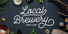 Local Brewery font by Cultivated Mind