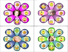 Feelings Fun - Social Emotional Learning for the classroom Shape Matching, Social Emotional Learning, Dry Erase Markers, Clothespins, Flower Cards, Students, Chips, Boards, Classroom