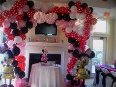 #nanisetc balloon arch