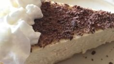 With a crust made of ladyfinger crumbs and a filling made with cream cheese, mascarpone, and espresso, this cheesecake combines the flavors of tiramisu with the richness of a New York-style cheesecake.