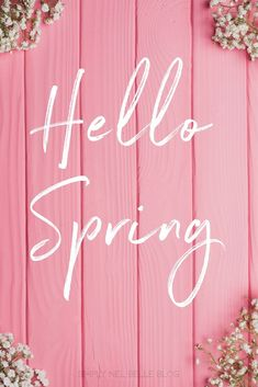 Hello Spring Quote Created by: Janelle www. Hello Spring Quote Created by: Janelle www. - Quotes about wild, powerful, and free spir. Hello Spring Wallpaper, Frühling Wallpaper, Pink Photography, Photography Quote, Spring Aesthetic, Spring Images, Flower Quotes, Spring Flowers, Spring Quotes Flowers