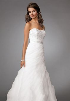 Bridal Gown Inspiration a board by www.myfauxdiamond.com #myfauxdiamond #weddings #jewelry  Reflections by Jordan - M266