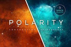 Polarity Space Backgrounds - Design Cuts