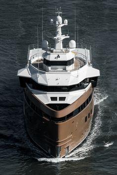 Yacht Design, Boat Design, Superyacht Charter, Explorer Yacht, Deck Boat, Below Deck, Super Yachts, Motor Yacht, Open Water