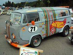 Hot Wheels VW panel van