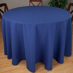 Riegel Premier Hotel Quality Tablecloth, 90 inchRound