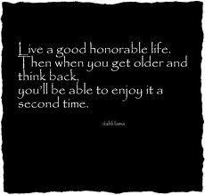 Good life.