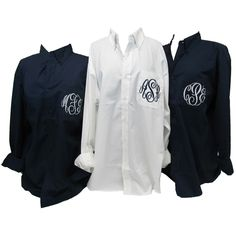 Getting Ready for the Wedding Oversized Monogrammed Shirts $34.95