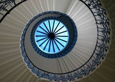 Tulip Staircase, Queen's House, Greenwich, London, England by Alaskan Dude, via Flickr