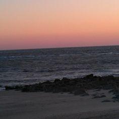 Sunset at Edisto Beach today.